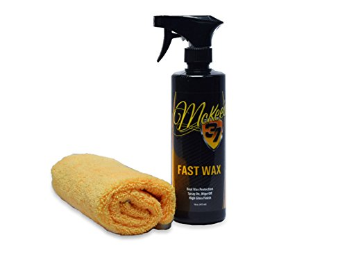 Car Spray Fast Wax (McKee's 37 MK37-430 Fast Wax (Spray Wax), 16 fl. oz.)