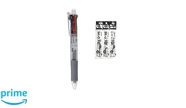 10pcs - Black Zebra B4SA1 Clip-on multi 0.7mm Multifunctional Pen SALE