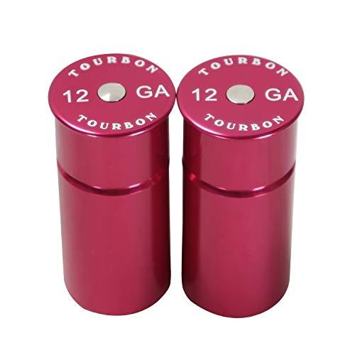 - TOURBON Shotgun 12 Gauge Snap Cap -Red (Pack of 2 Pieces)