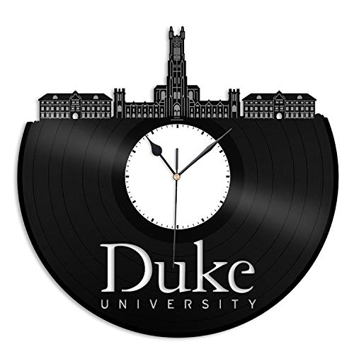 VinylShopUS - Duke University Vinyl Wall Clock Best Gift for Students Home and Office | Room Decoration