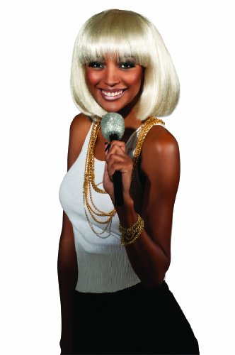 Rubie's Rihanna Adult Concert Wig, Blonde/Brown, One Size