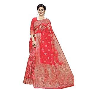 Women Banarasi Jacquard Kanjivaram Style Saree