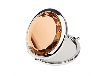 Spiegel Make Up : Gootuouou professionell runde reise faltbarer spiegel make up
