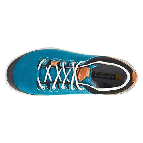 AKU La Val Low GTX Herren Trekkingschuhe Outdoor Gore Tex Turquoise Gr 41,5