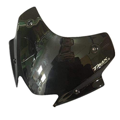 Nouveau Plus /élev/é Moto fum/ée Pare-Brise Visor Llistat Fit Bulle sadapter Yamaha TMAX 530 TMAX530 TMAX 2017 2018 TMAX530 SX DX
