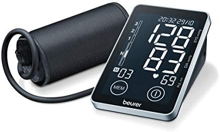 Beurer BM 58 - Tensiómetro de brazo, memoria 2 x 60 mediciones ...