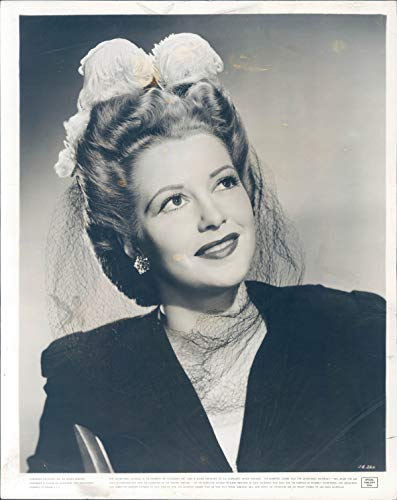 Vintage Photos 1943 Press Photo Actress Julie Bishop Action North Atlantic Models Beauty 8x10
