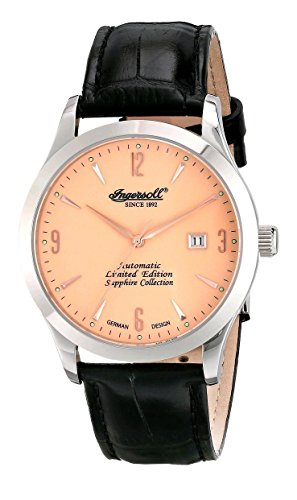 Ingersoll Men's IN1004AP Clay Analog Display Automatic Self Wind Black Watch