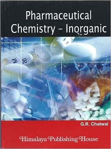 Pharmaceutical Chemistry Inorganic (Vol. I)