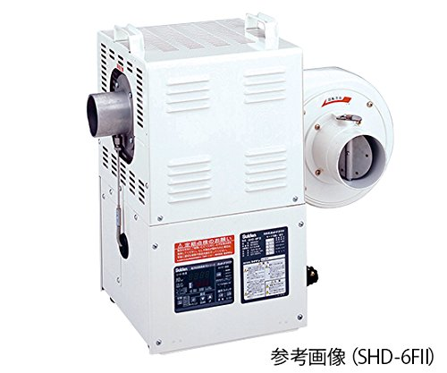 スイデン2-9991-03熱風機(デジタル電子温度制御室)3.7/4.3(m3/min)300℃3相200VSHD-4FⅡ B07BD31MCK