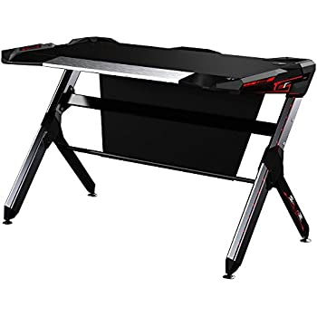 Amazon Com Kinsal Gaming Desk Computer Desk Table With