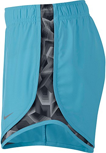 Nike Women's 3'' Dry Tempo Running Shorts(Polarized Blue/Stealth/Wg, M) by Nike (Image #3)