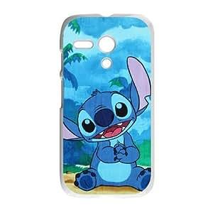 Motorola Moto G Phone Case White Disneys Lilo and Stitch ES3TY7877234