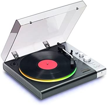Mac Audio D1755000 - Tocadiscos con Bluetooth y Luces LED ...