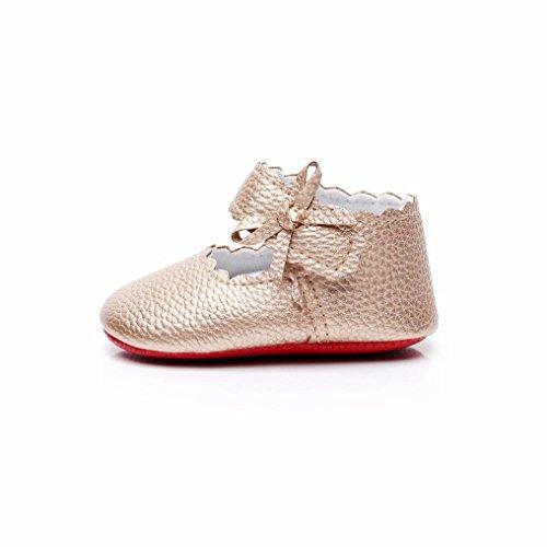 Transer Baby Kleinkind Bogen Weiche Neugeborene Mädchen Jungen Schuhe GD