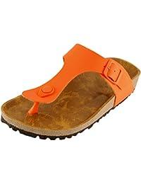 Women's Thong Slip On Slide Platform Sandal