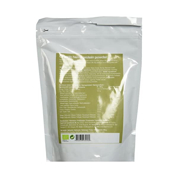 Superfruit EU Organic Hemp Protein Powder