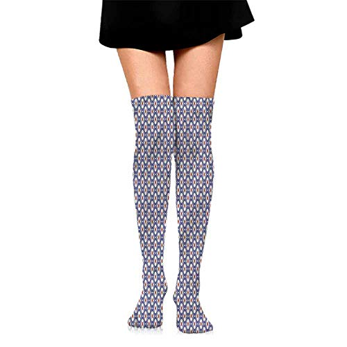 Ogee Liner - Funny Socks For Girl Paint,Ogee Form Moroccan Mosaic,socks women low cut no show