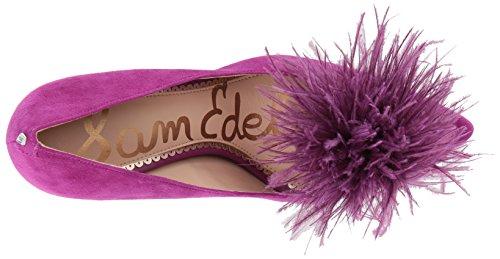 Edelman Suede Haide Sam Pump Purple Women's Laser dvzYqSYcw6