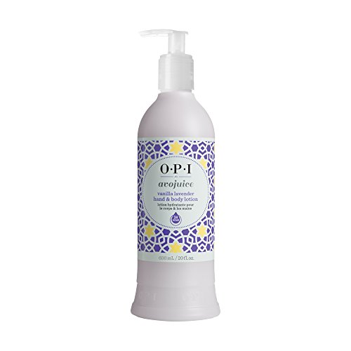 (OPI Avojuice Hand Lotion, Vanilla Lavender, 20 Fluid Ounce)