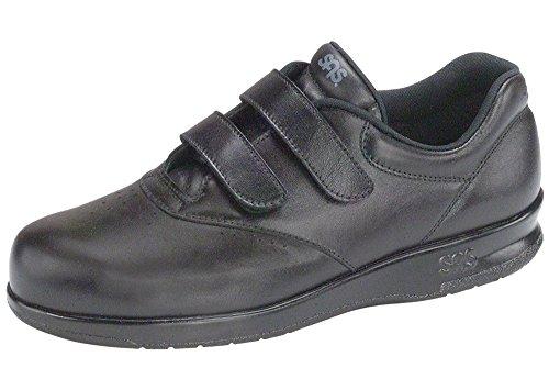 Sas Noir Femmes Chaussures En Cuir (11 (ww) Double Large, Noir)