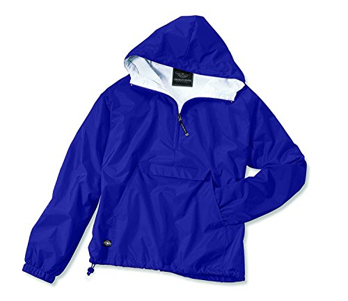 Charles River Apparel Women's Front Pocket Classic Pullover - Royal Blue, - Ohio Classic Pullover