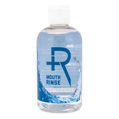 (Recovery Oral Piercing Aftercare Sea Salt Mouth Rinse - Alcohol Free Healing Solution Saline Mouthwash, 8 Ounces)