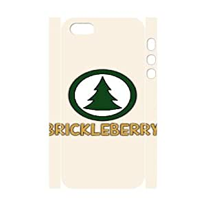 brickleberry iphone 5 5s Cell Phone Case 3D White PSOC6002625731936