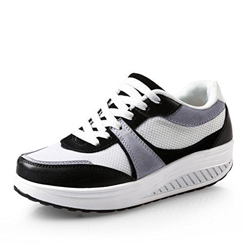 zapatos perezosos corteza gruesa del mollete del ms/zapatos de lona de la manera/pie de los zapatos B