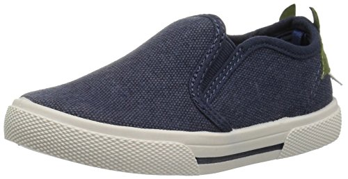 Pictures of carter's Boys' Damon7 Casual Loafer, Navy, 8 M US Toddler 1