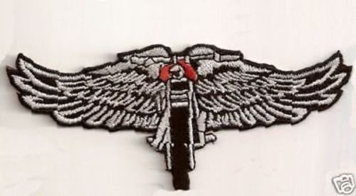 WINGED WHEEL Embroidered Motorcycle MC Club Biker Leather Vest Patch PAT-2039 heygidday