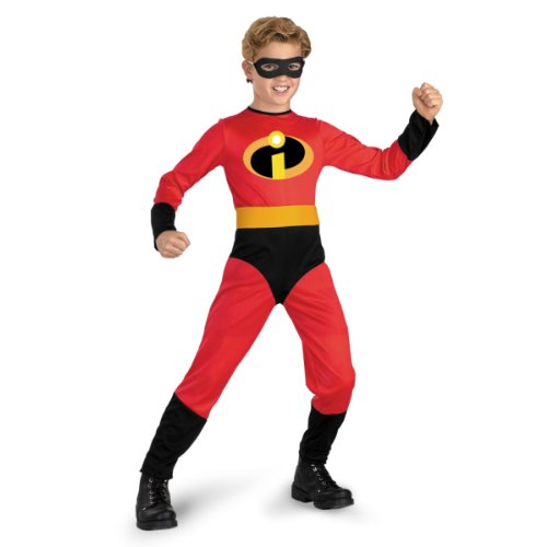 Best Character Costumes Of All Time (The Incredibles- Mr. Incredible Standard Child Costume: Size 3T-4T)