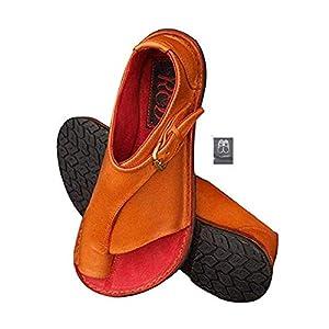 Chickwin Sandalias Mujer Planas Cómodos, Zapatos de Verano Planas Bohemias Elegant Zapatos de Playa Moda Fiesta Cuero… | DeHippies.com