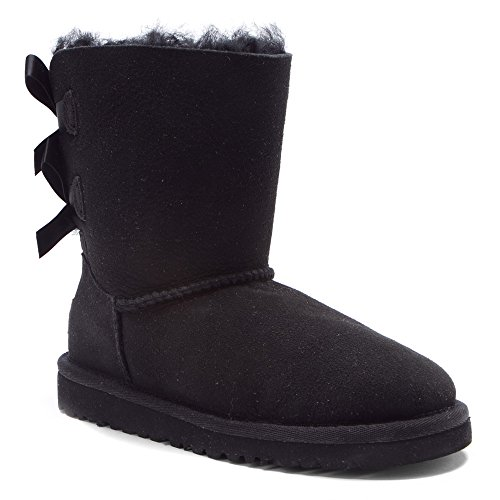 UGG Kids Bailey Bow Black Size - Boots Ugg Size Youth 5