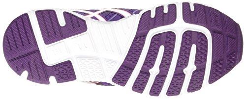 Asics Gel-Zaraca 4, Women's Running Shoes Purple (Purple/Silver/Flamingo 3393)