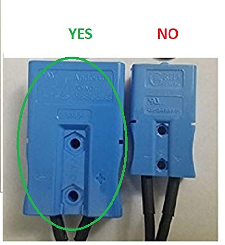 Kid Trax 12 Volt Replacement Battery 12V 12AH with Large Blue Plug Anderson Power On The Blue Plug Beiter DC Power by Beiter DC Power (Image #1)
