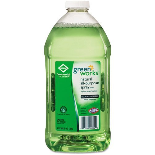 - Green Works Natural All-Purpose Spray Cleaner Refill, 64 fl oz