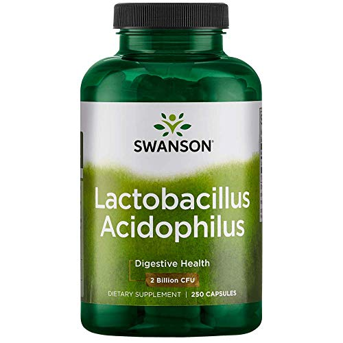 (Swanson Acidophilus 2 Billion Cfu 250 Capsules)