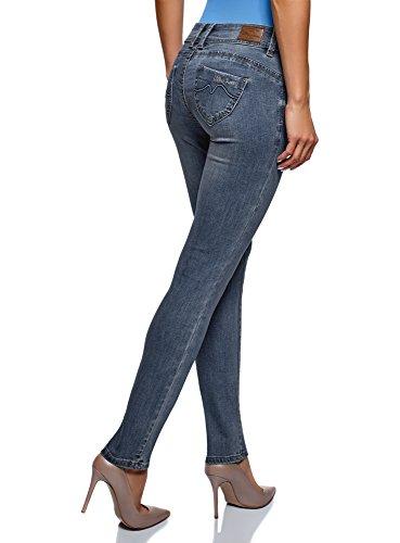 Oodji up Ultra Push Blu Skinny Jeans 7500w Donna rrqWnP