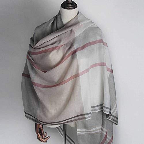 Rayon Plaid Blanket - QiXian Elegant Ladies Plaid Rayon Women's Warm Color Grid Long Autumn and Winter Outdoor Multi-Function Fashion Trend Wild Warm Shawl Scarf Gift, 5#-Green