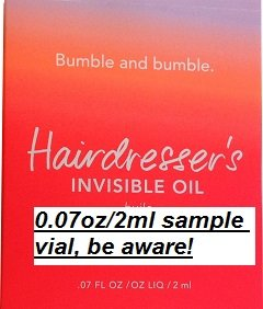 Dlx Oil - Bumble and Bumble Hairdresser's INVISIBLE OIL, DLX Size, NEW