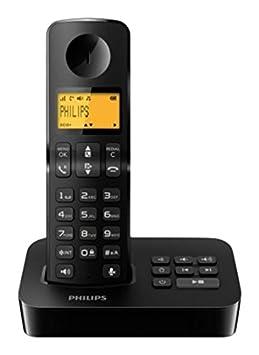 Téléphone fixe PHILIPS D2051B NOIR SOLO AVEC REPONDEUR