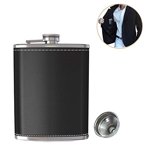 Pocket Alcohol Stainless Leather Drinking product image