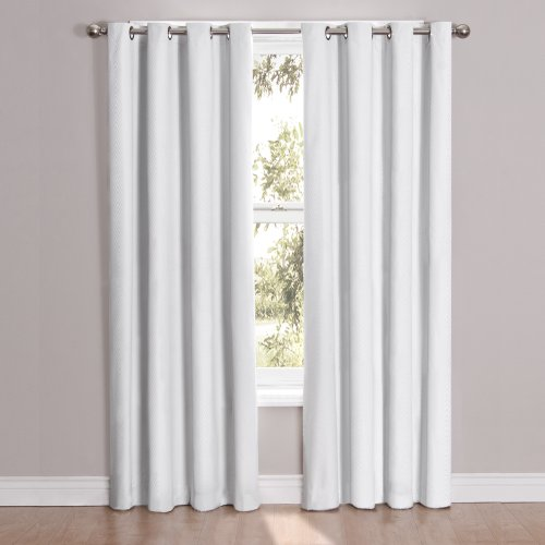 White Blackout Curtains Amazon