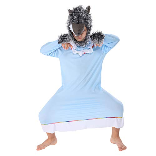 Boys Fairytale Dress Up - ReneeCho Boy's Big Bad Wolf Granny