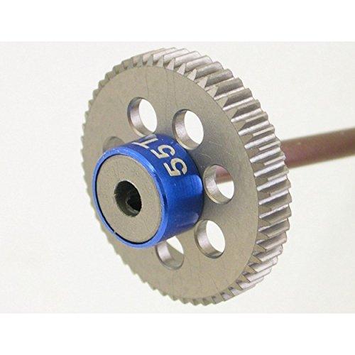 Hot Racing HAG455 55t 64p Hard Anodized Aluminum Pinion Gear ()