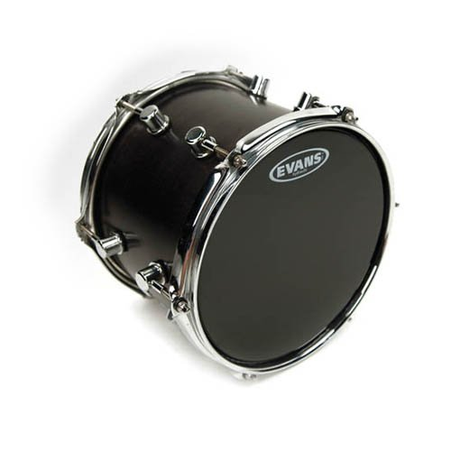 evans-black-hydraulic-drum-head-13-inch