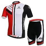 Best Bib Shorts - BESYL Unisex Printed High-Performance Mesh Cycling Clothing Kit Review