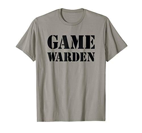 Game Warden Shirt Halloween Costume