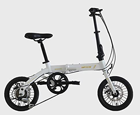 Upten Season Folding Bike Foldable Bicycle Aluminum City Bike 14